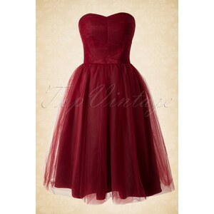 Bunny 50s Tamara Party Dress in Red