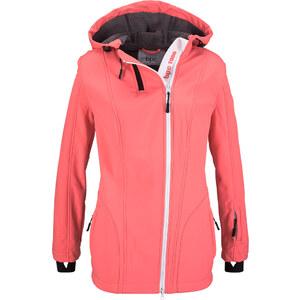 bpc bonprix collection Softshell-Jacke langarm in rosa für Damen von bonprix