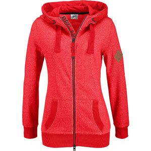 bpc bonprix collection Sweatjacke langarm in rot für Damen von bonprix
