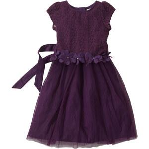 bpc bonprix collection Robe de soirée violet manches courtes enfant - bonprix