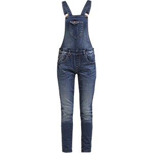 Only Petite ONLNEW KIM Latzhose medium blue denim