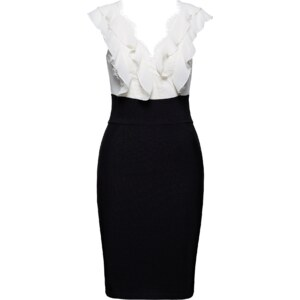 Lipsy Cocktailkleid Frill Bust Bodycon Dress