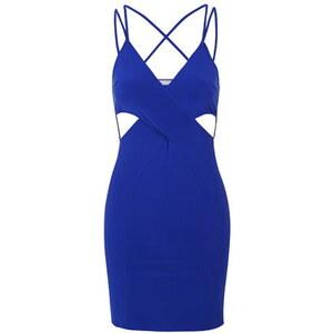 Topshop **Kleid mit überkreuzten Rückenträgern von Love - Blau
