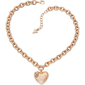 GUESS Halskette Glossy Hearts Ubn51435