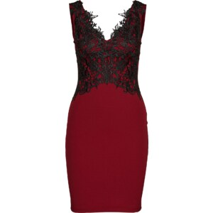 Lipsy Cocktailkleid BURGDY LACE DRESS
