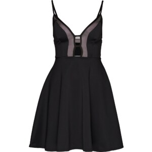 Oh my Love Kleid Mesh Heart Plunge