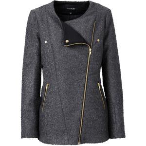BODYFLIRT Jacke langarm in grau für Damen von bonprix