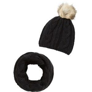VERO MODA Mütze Set mit Schal und