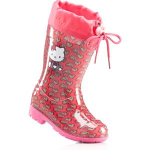 Bottes de pluie rose chaussures & accessoires - bonprix
