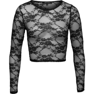 NEW LOOK Cropped Shirt aus Spitze Go