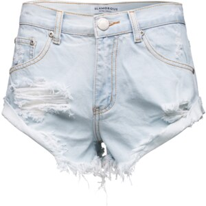 GLAMOROUS High Waist Denim Shorts KA2975