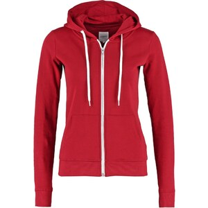 Zalando Essentials Sweatjacke dark red