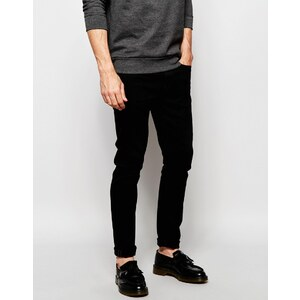 Produkt - Schwarze, sehr enge Skinny-Jeans - Schwarz