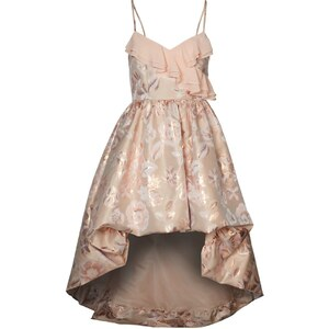 Swing Cocktailkleid / festliches Kleid peach/caramel