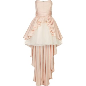 Swing Cocktailkleid / festliches Kleid peach/gold
