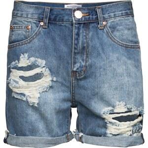GLAMOROUS Used Look Shorts aus Baumwolle KA3619