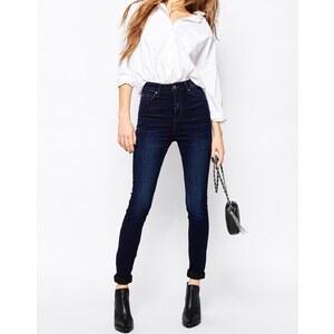 Dr Denim - Zoe Sky - Skinny Jeans mit hoher Taille - Midnight