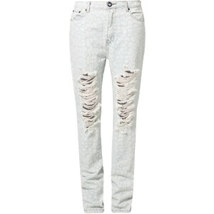 One Teaspoon SURRENDER Jeans Relaxed Fit weiß