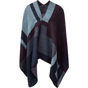 Cecil - Châle doux à teneur en laine - deep bleu