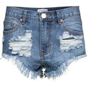 GLAMOROUS Ripped Hot Pants aus Denim KA2958