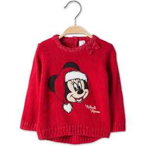 C&A Babys Minnie Mouse Baby-Pullover in rot
