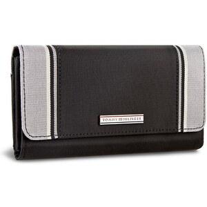 Große Damen Geldbörse TOMMY HILFIGER - Pamela Large EW Wallet AW0AW00770 Szary 002