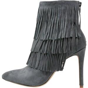 Steve Madden FLAPPER High Heel Stiefelette grey