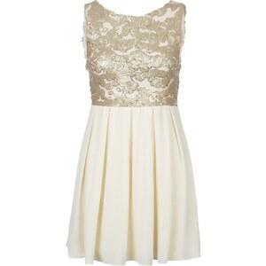 TFNC Cocktailkleid / festliches Kleid gold/cream
