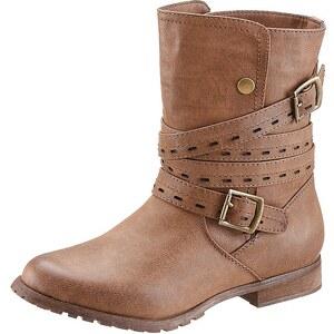 City Walk Boots mit umschlagbarem Schaft
