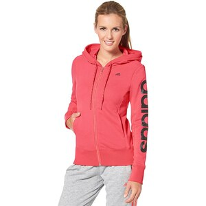 adidas Performance ESSENTIALS LINEAR HOODY Kapuzensweatjacke