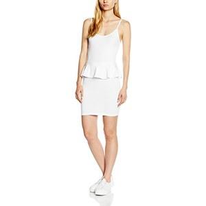 New Look Damen Kleid Stappy Peplum Bodycon Mini