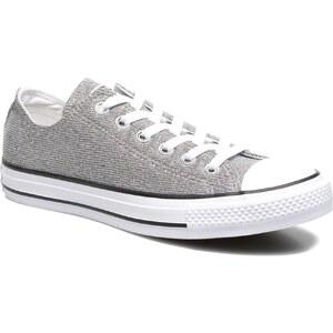 SALE - 20% - Converse - Chuck Taylor All Star Sparkle Knit Ox W - Sneaker für Damen / silber
