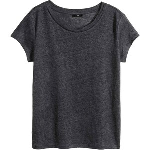 H&M T-shirt en lin