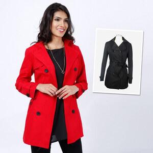 Lesara Trench-coat classique avec ceinture