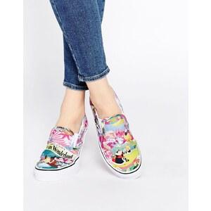 Vans - Disney Alice - Schnürlose Sneakers - Mehrfarbig