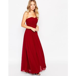 Y.A.S - Molly - Maxi robe bandeau - Rouge
