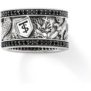 Thomas Sabo Ring schwarz TR1801-051-11-54