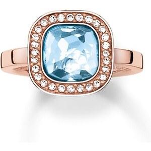 Thomas Sabo Ring blau TR2029-635-1-50