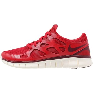 Nike Sportswear FREE RUN 2 EXT Sneaker low gym red/deep granate/bright crimson/sail
