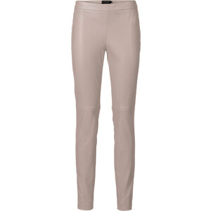 BODYFLIRT Pantalon synthétique imitation cuir gris femme - bonprix