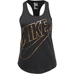 Nike Sportswear Top black/black/gold