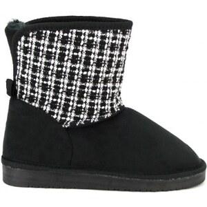 Boots fourrées Noire UGTA - Cendriyon