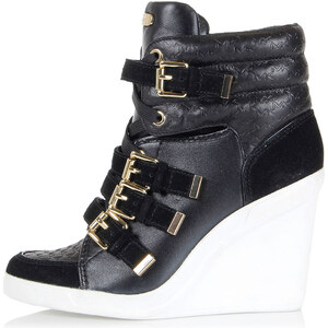 "Michael Kors Leather ""COLBY WEDGE"" Wedge sneakers Herbst/Winter"