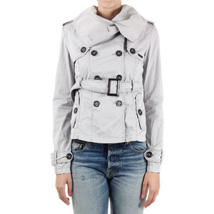 Superdry Cotton Double breasted jacket with belt Frühling/Sommer
