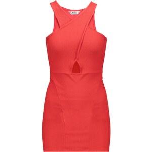 Miss Selfridge Petite Jerseykleid red