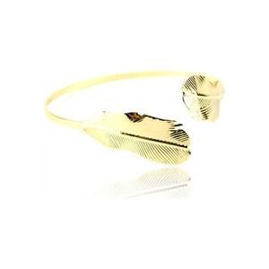 Bracelet Doré Feuille MEGUILLA - Cendriyon