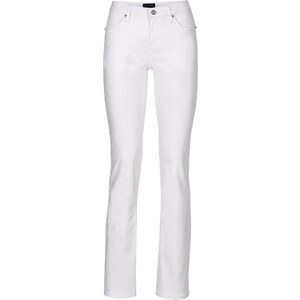 BODYFLIRT Bootcut-Jeans in weiß für Damen von bonprix
