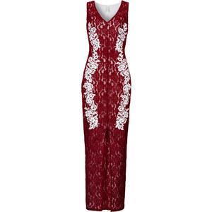 BODYFLIRT boutique Spitzenkleid in rot von bonprix