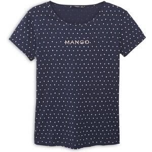 MANGO T-Shirt Logo En Coton