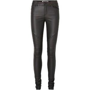 Noisy May Skinny fit jeans NW beschichtete Biker